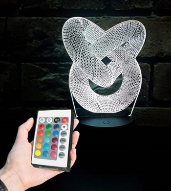 מנורת LED מחליפת צבעים