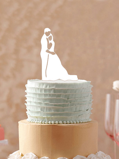 קישוט עוגת חתונה