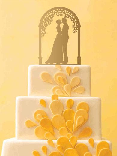 קישוט לעוגת חתונה