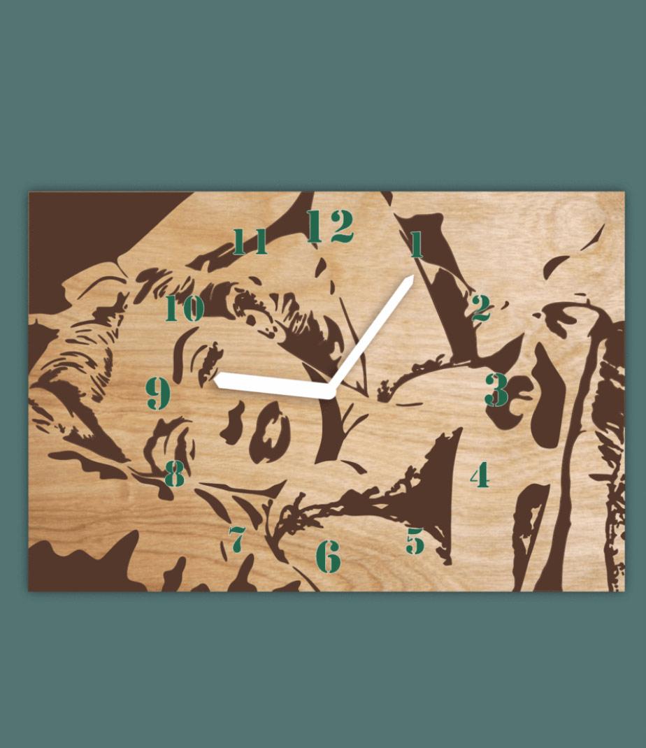 שעון קיר מרלין מורנו