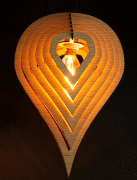 בית מנורה בחיתוך לייזר